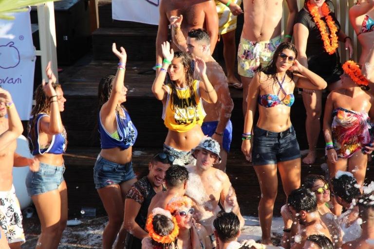 Partying at Zrce. (source - zrce.eu)