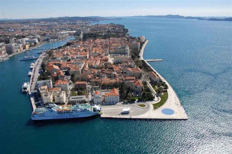 Zadar's Old Town. (source - croatia.hr)