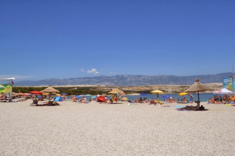 Zrce Beach - Home to Croatia's house music scene (source - MikeW)