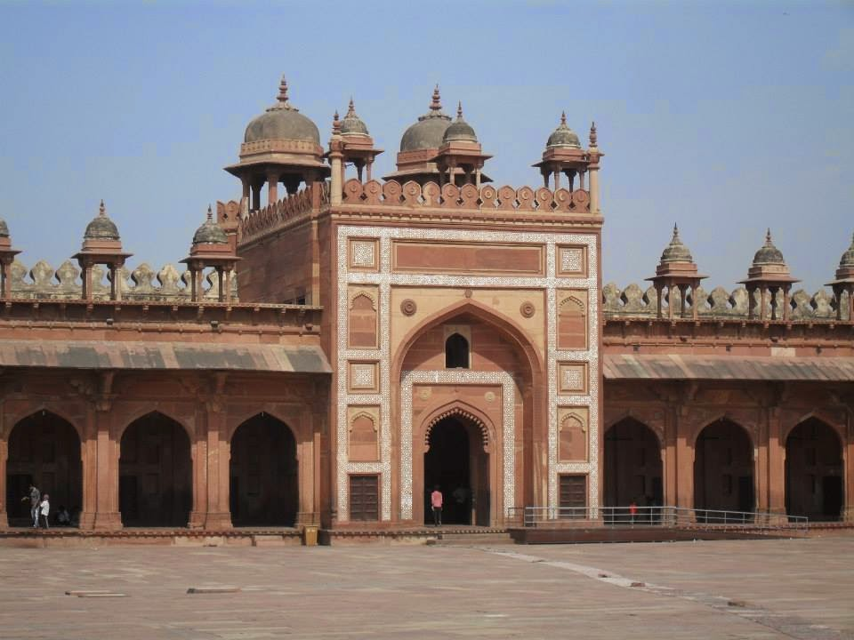 Fatehpur Sikri (source - MikeC)